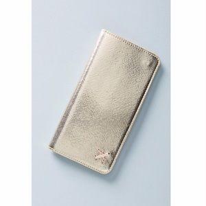 New Gold Celeste Travel Wallet